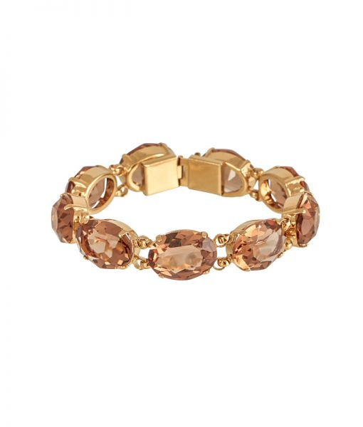 Armband in Champagner Rosa Templin